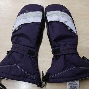 Winter ski mittens